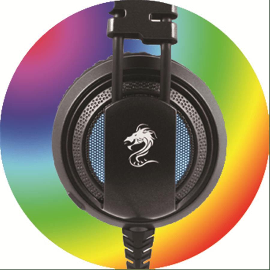אוזניות גיימינג+אפקט בס