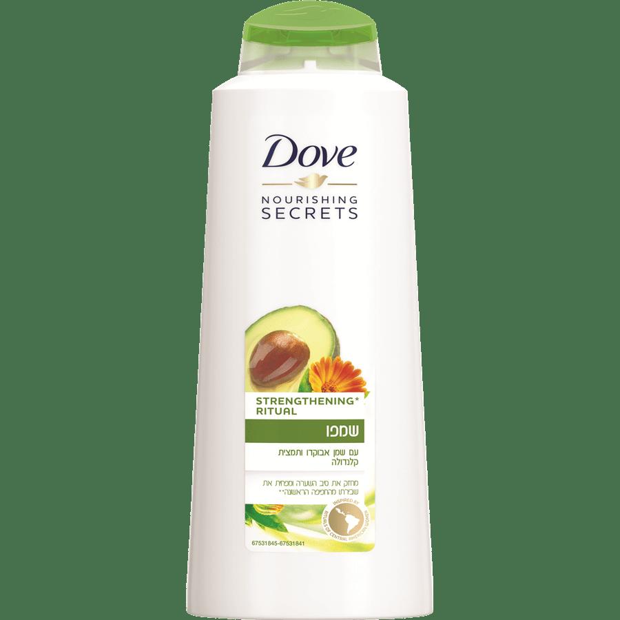 שמפו דאב עם שמן אבוקדו