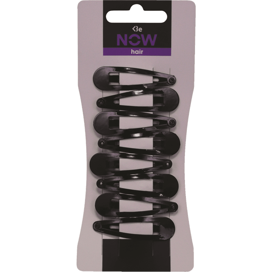 סיכות תיקתק שחור 6 יח