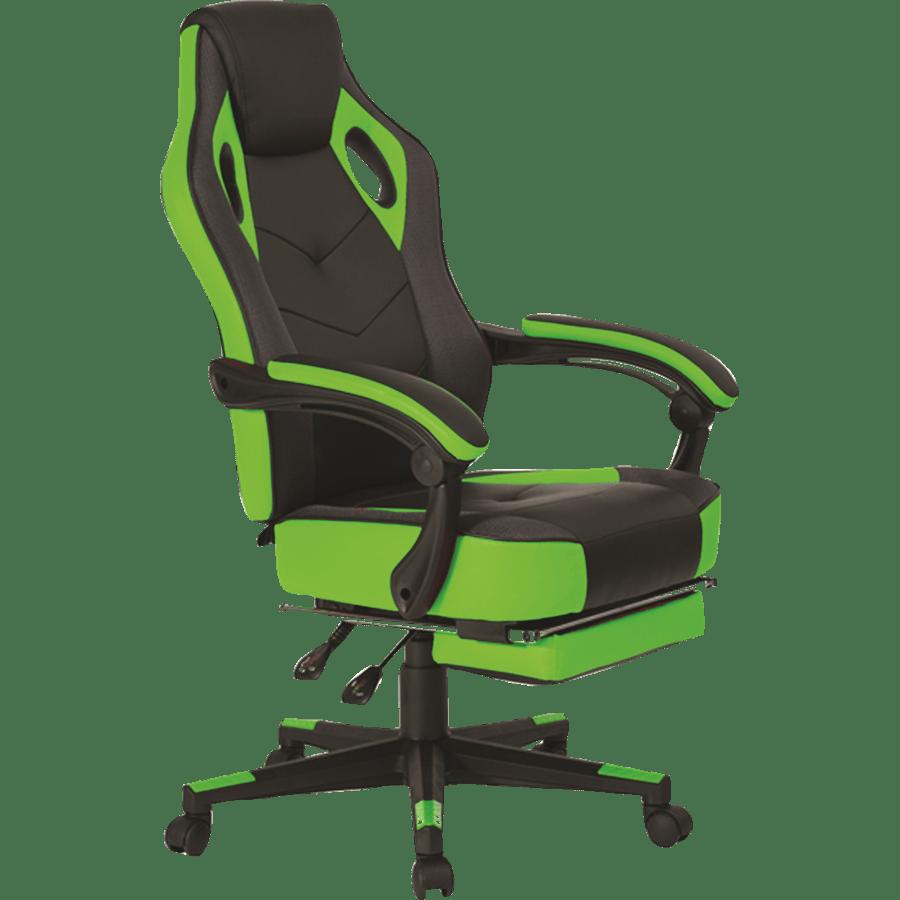 כיסא גיימינג ירוק שחור