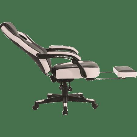כיסא גיימינג לבן שחור