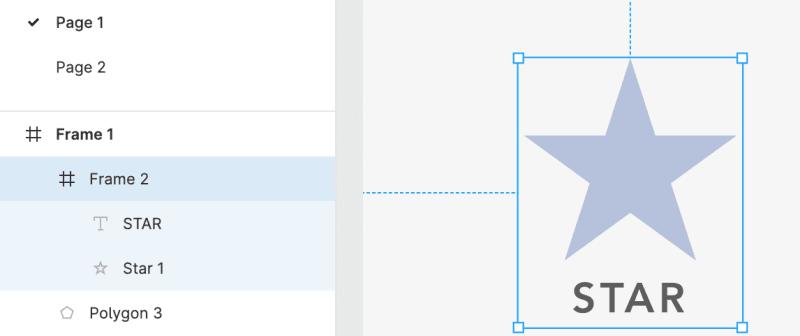図形のフレーム化