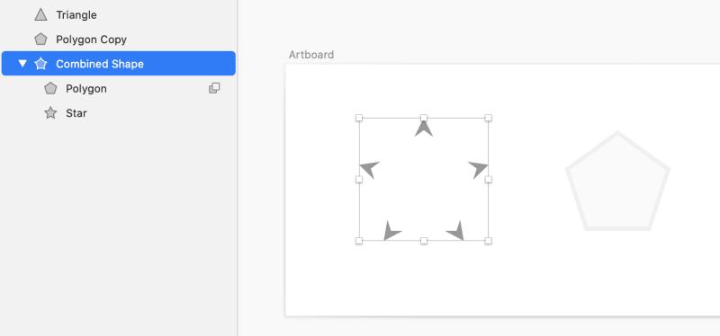 図形の結合 Subtract