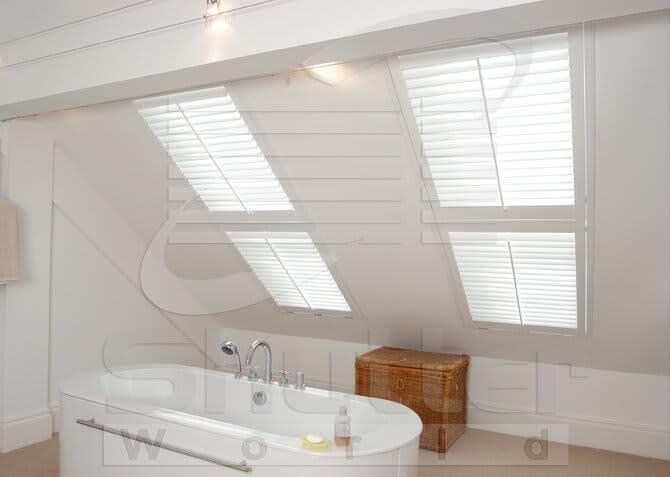 Skylight shutters from Shutter World