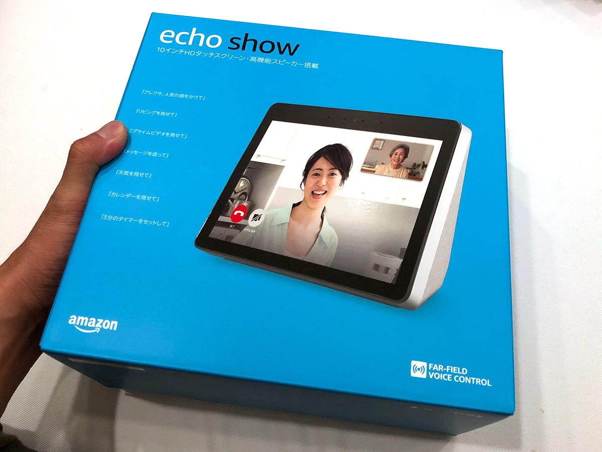 Amazon Echo Show/エコーショーとは