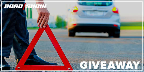 Enter to win* a roadside emergency kit for your car! - Roadshow