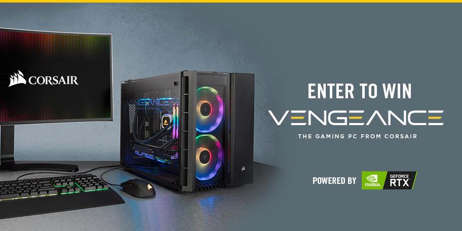 Win the Corsair Vengeance 5180 Gaming PC