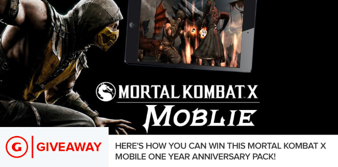 Mortal Kombat X Mobile One Year Anniversary Giveaway - GameSpot