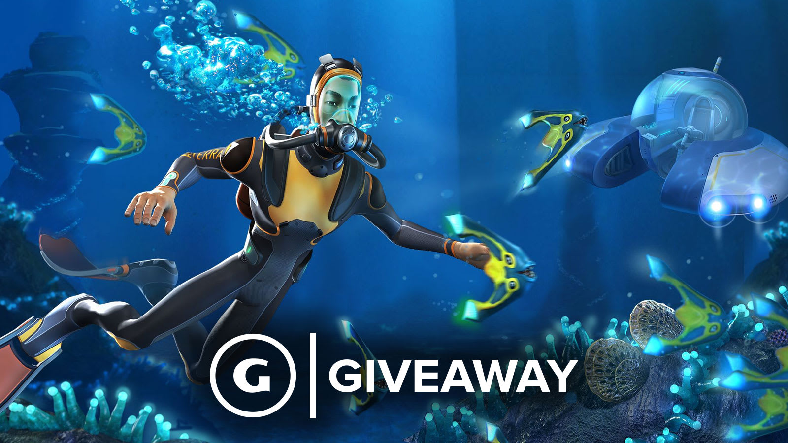 Free PS4 And Xbox One Codes For Subnautica Giveaway - GameSpot