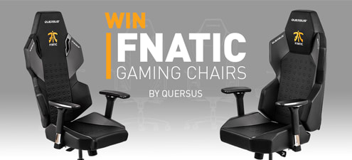 Strange Win A Special Edition Quersus Fnatic Gaming Chair Machost Co Dining Chair Design Ideas Machostcouk