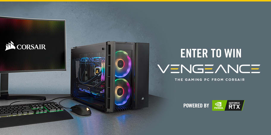 CORSAIR Vengeance Gaming PC Giveaway