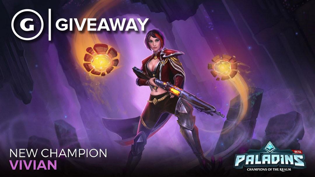 Paladins New Champion Vivian Code Giveaway (PC/PS4/Xbox) - GameSpot