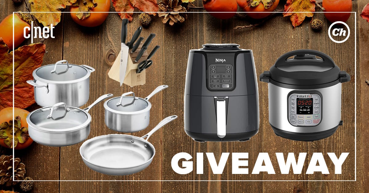 CNET.com Giveaway: Win Zwilling Cookware set & Air Fryer