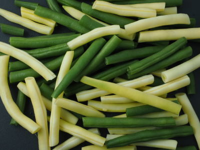 Farm Fresh Green and Yellow Wax Beans