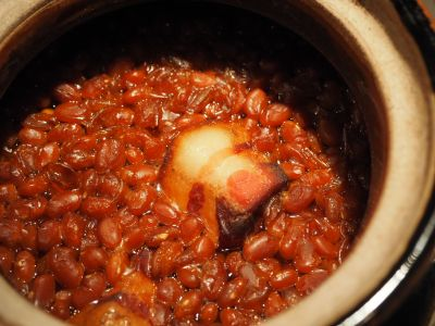 Boston Baked Beans with Salt Pork