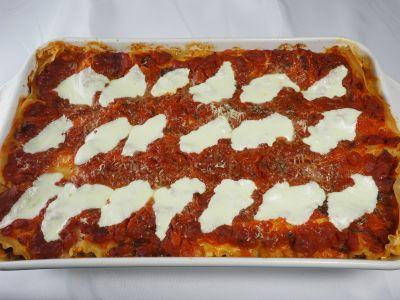 Lasagna 91 Cooked