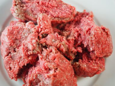 Ground Beef for the Sauce