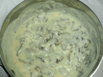 Mushroom Bechamel Sauce Ready to Go!