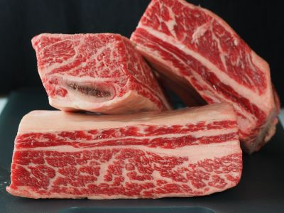 """English"" Cut Beef Spare Ribs – Notice the Single Rib Bone"