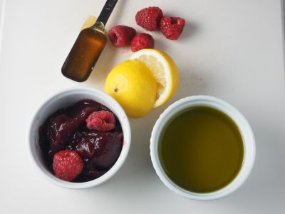 Raspberry Vinaigrette Ingredients
