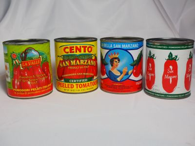 Some of the Different Brands Claiming They Are San Marzano Tomatoes