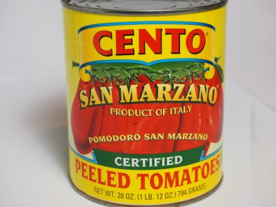Cento San Marzano Tomatoes Claim to be Certified