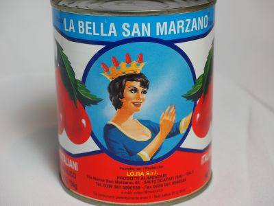 La Bella Uses the Name San Marzano but Provides No Other Information