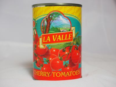 Can of Imported Cherry Tomatoes