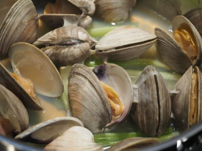 Steamed Cherrystones Clams