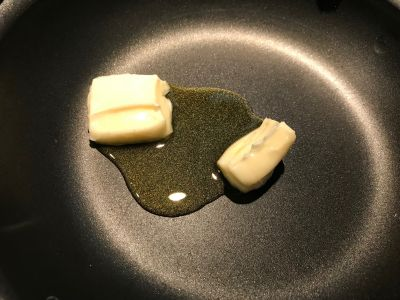 Butter and Oil in the Pan
