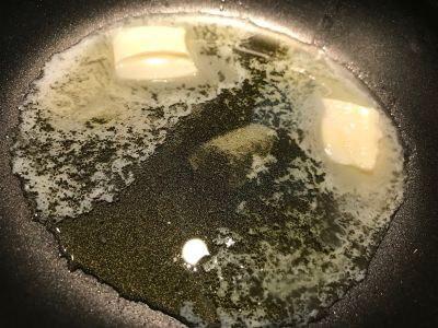 Butter and Oil Ready for the Potatoes