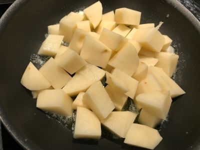 Potatoes in the Pan
