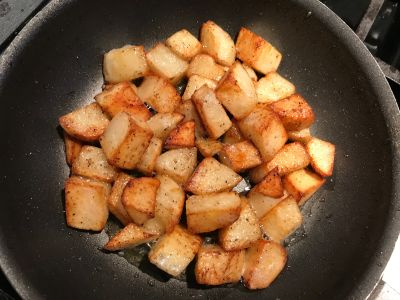 Potatoes Tossed at 20 Minutes