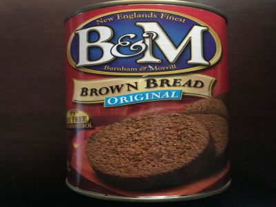 B&M Brown Bread in the Can