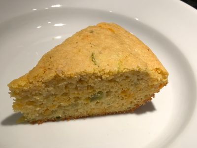 Cornbread slice