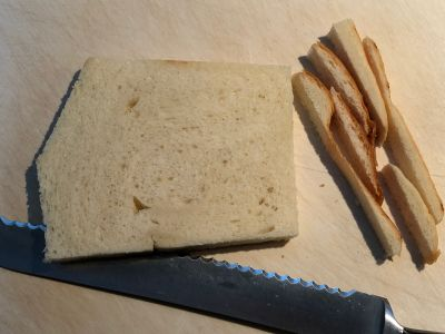 Bread with Crusts Removed
