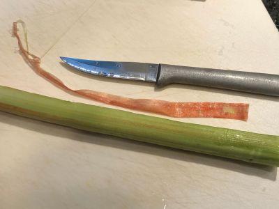 Peeling the Rhubarb
