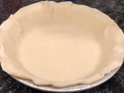Place the Crust in the Pie Pan