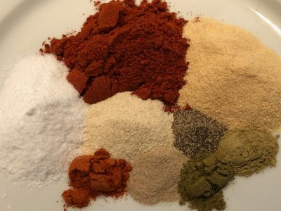 All the Spices and Herbs Measured Out