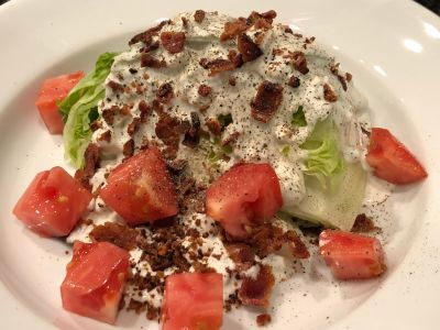Wedge Salad with Freshly Ground Black Pepper