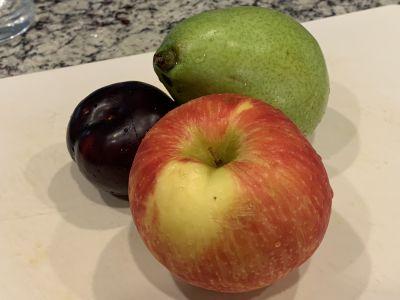 Fruit Choice - Apple, Pear and Plum