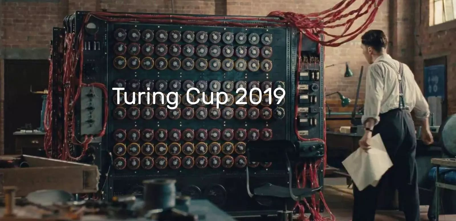 Turing Cup Banner