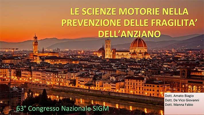 Intervnto dott. Amato al Congresso Sigm di Firenze