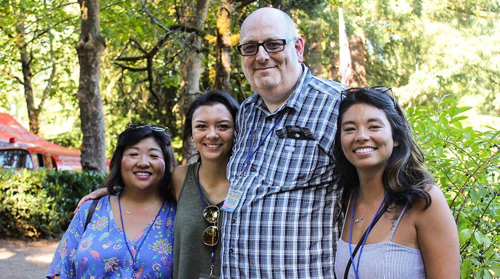 David Jennings and Family at the 2018 SIGMADESIGN Summer Bash