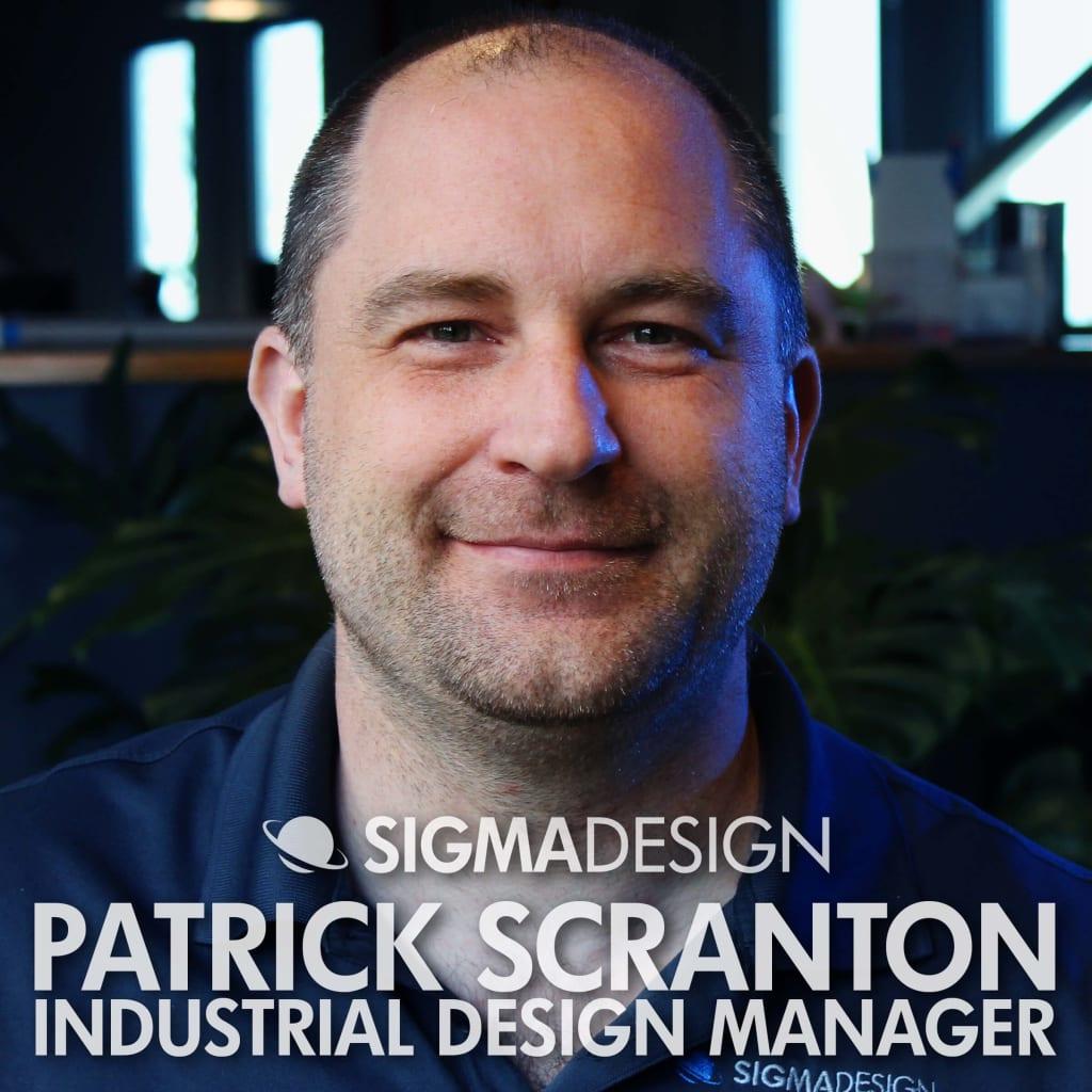 Patrick Scranton Industrial Design Manager