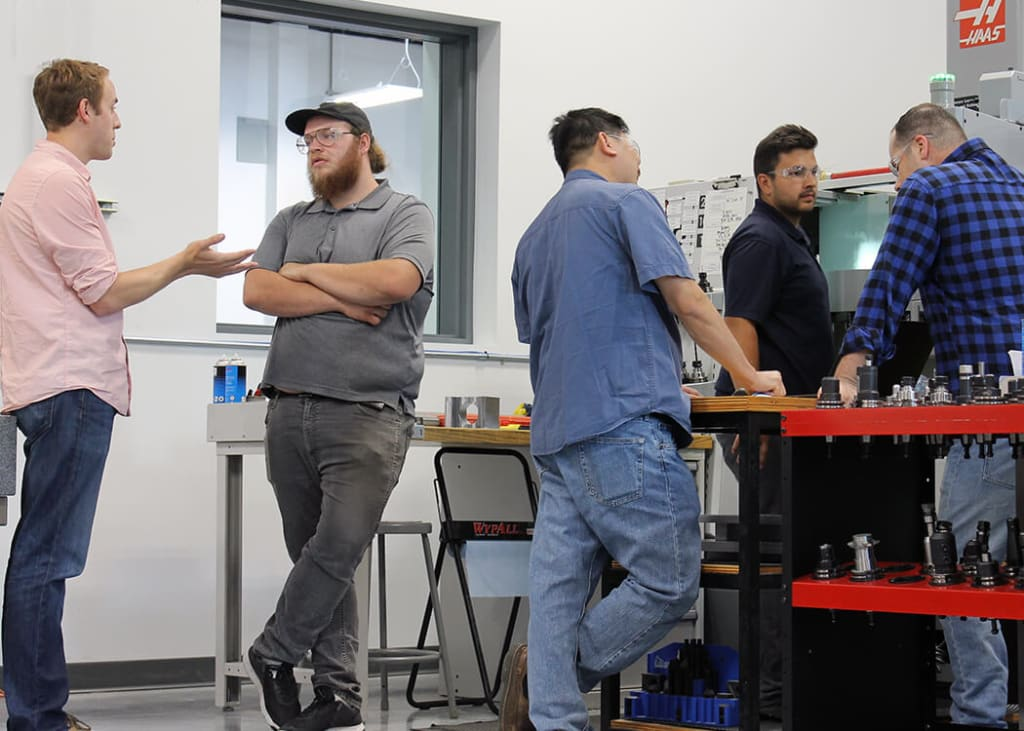 Collaboration between Engineers, Technicians and Machinists is key is good design.