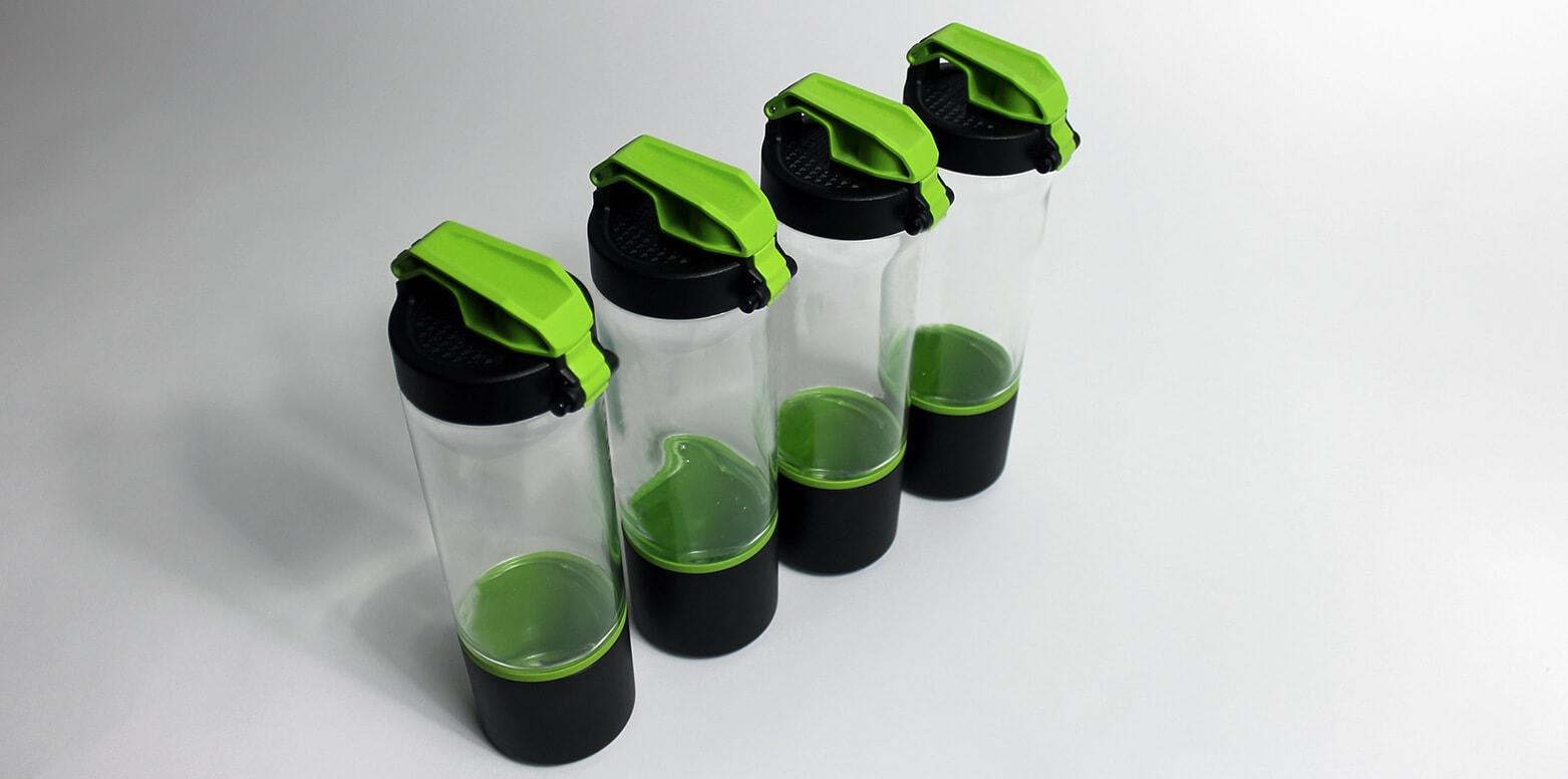product development bottle prototype