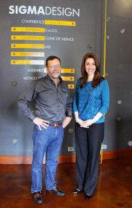 Jaime Herrera Beutler visits SIGMADESIGN