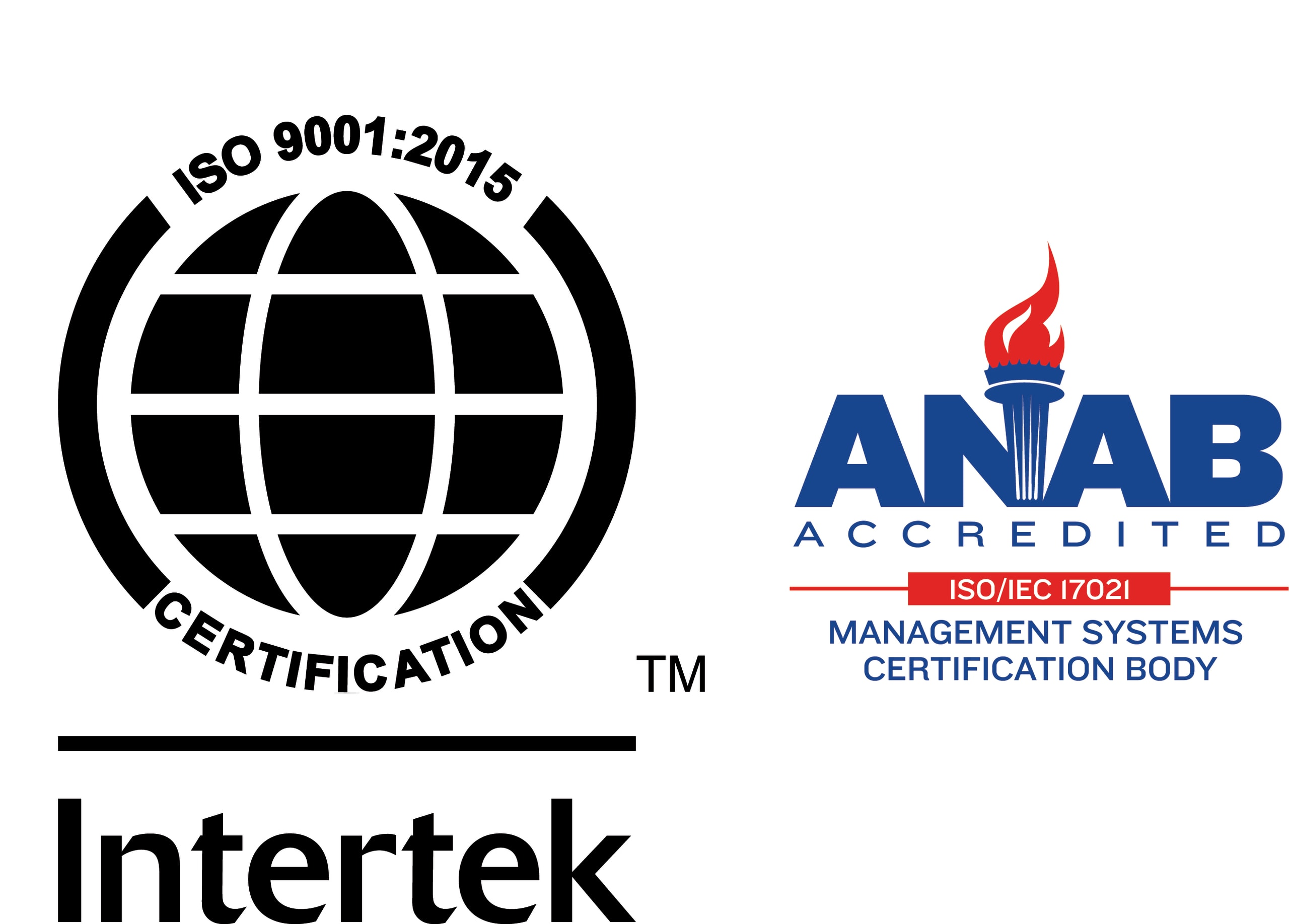 as ISO9001:2015 Quality Management System certification
