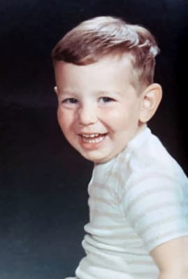 Image of young David Jennings